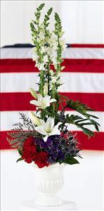 American Arrangement by Angel Lucys Funeral Florist - Victoria, TX