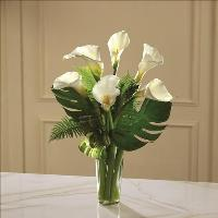 Always Adored Calla Lily Bouquet by Angel Lucys Funeral Florist - Victoria, TX