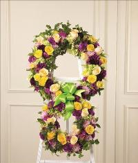Eternity Standing Easel by Angel Lucys Funeral Florist - Victoria, TX