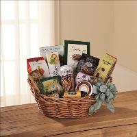 Warmth & Comfort Gourmet Basket by Angel Lucys Funeral Florist - Victoria, TX