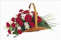 Basket Of Comfort by Angel Lucys Funeral Florist - Victoria, TX