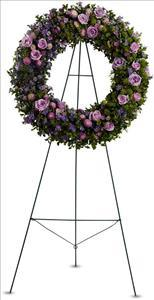 Heavenly Wreath by Angel Lucys Funeral Florist - Victoria, TX