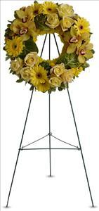Circle of Sunshine by Angel Lucys Funeral Florist - Victoria, TX